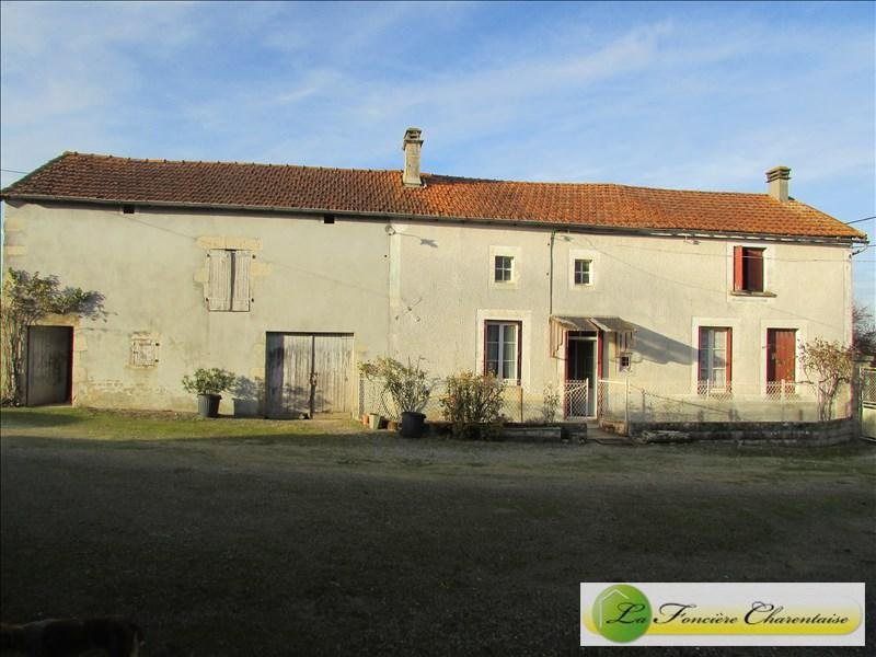 Vente maison / villa Aigre 89000€ - Photo 1