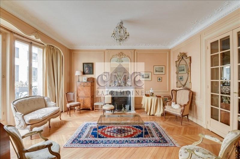 Revenda residencial de prestígio apartamento Paris 7ème 1965000€ - Fotografia 2