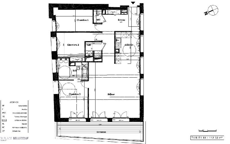 Immobile residenziali di prestigio appartamento Lyon 2ème 1385000€ - Fotografia 7