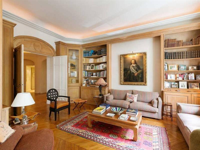 Revenda residencial de prestígio apartamento Paris 16ème 3970000€ - Fotografia 5