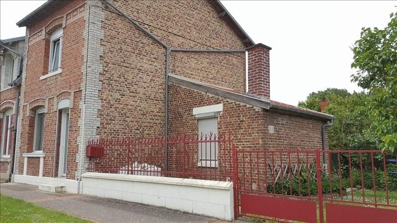 Sale house / villa Montescourt lizerolles 89900€ - Picture 1