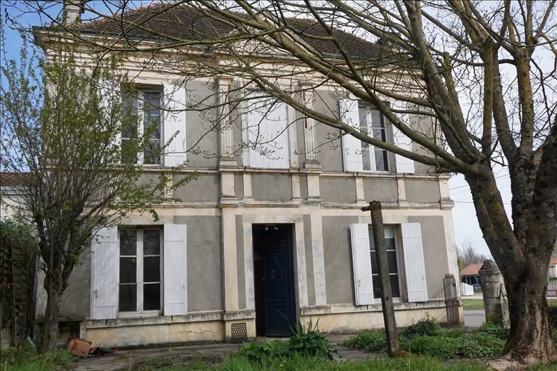 Sale house / villa La lande de fronsac 132900€ - Picture 1