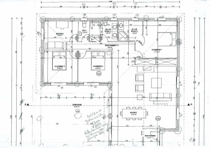 Vendita casa Lamothe capdeville 273500€ - Fotografia 4