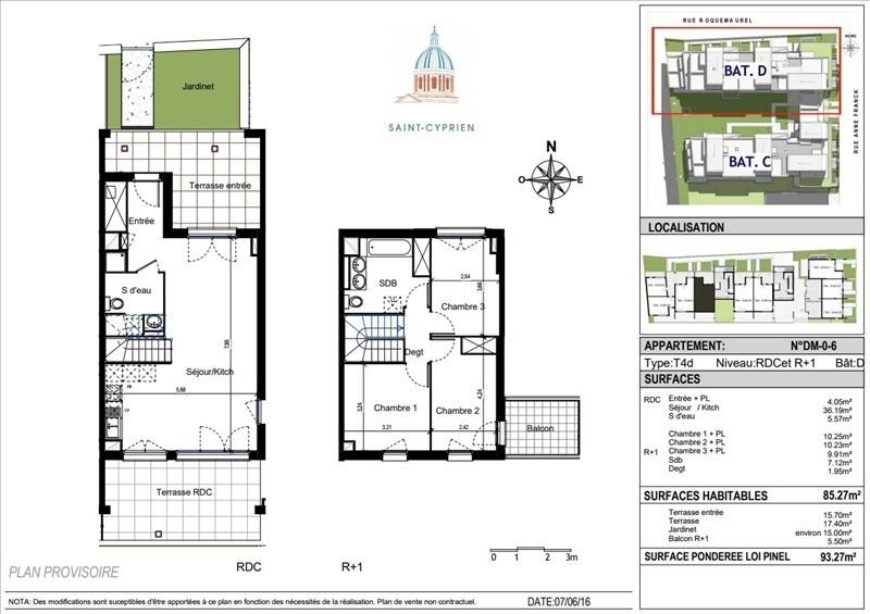 Vente appartement Toulouse 318000€ - Photo 9