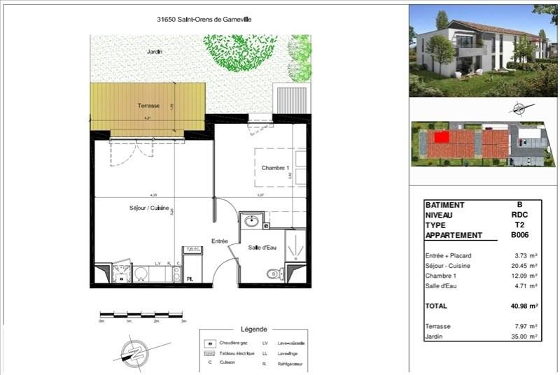 Vente appartement St orens de gameville 185000€ - Photo 9