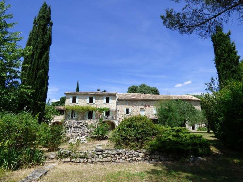 Vente de prestige maison / villa Barjac 799000€ - Photo 10