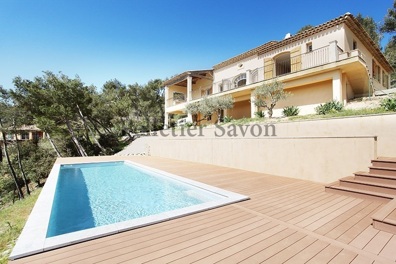 Verkoop van prestige  huis Le tholonet 1490000€ - Foto 2