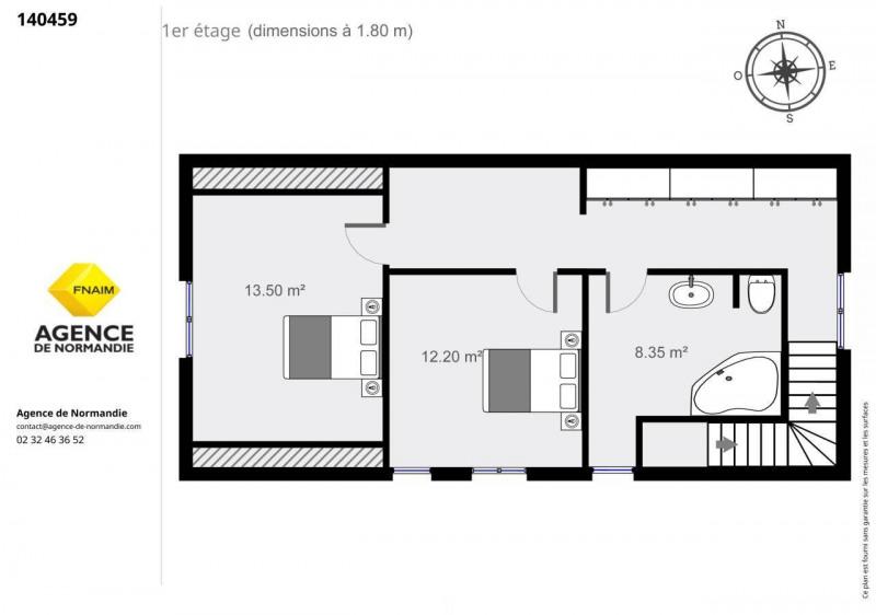Vente maison / villa Montreuil-l'argille 140000€ - Photo 11