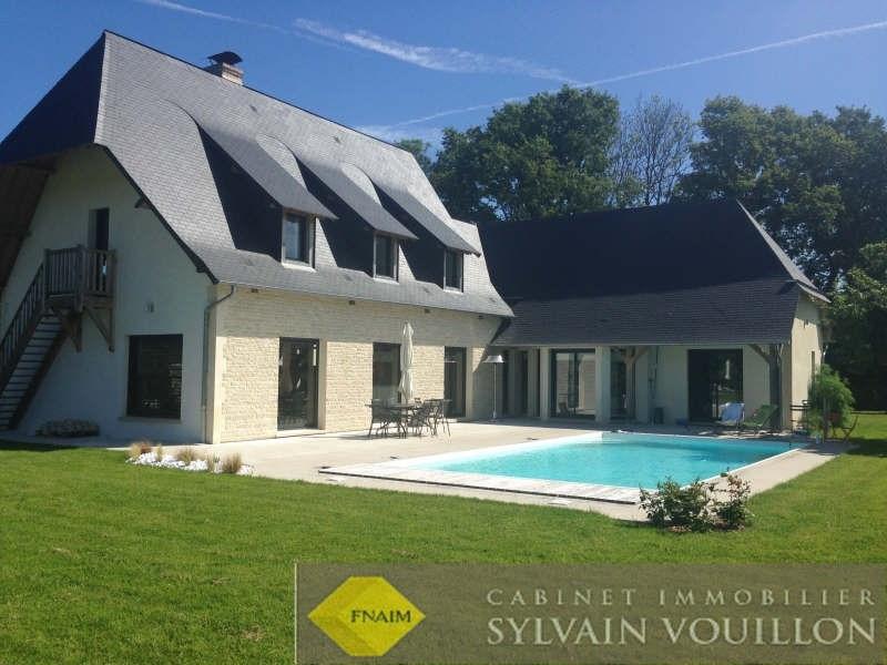 Revenda residencial de prestígio casa Deauville 1490000€ - Fotografia 1