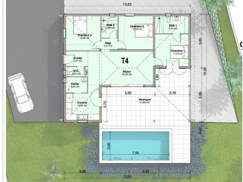Vente maison / villa Trois ilets 447200€ - Photo 5