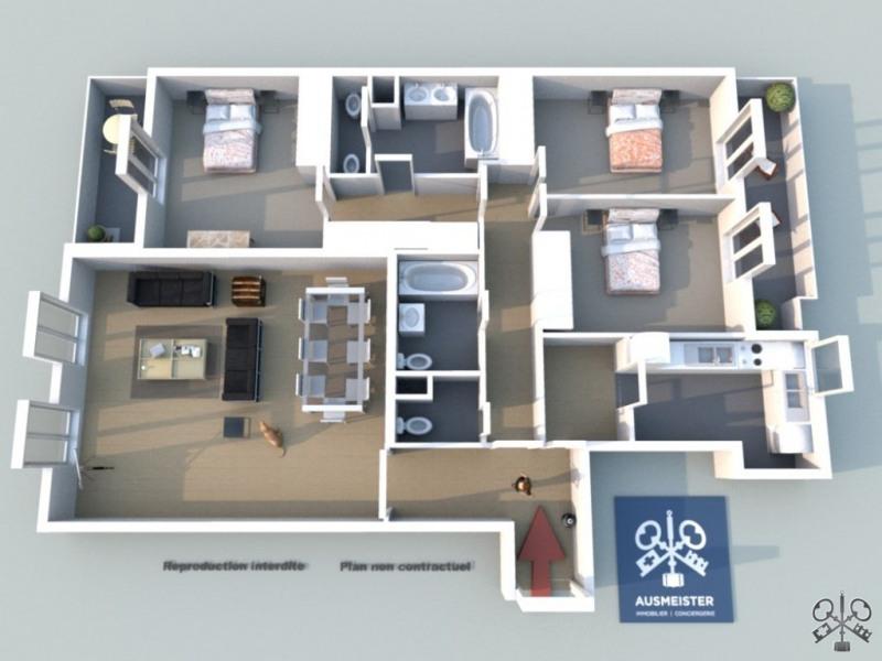 Verkauf von luxusobjekt wohnung Neuilly sur seine 1115000€ - Fotografie 3