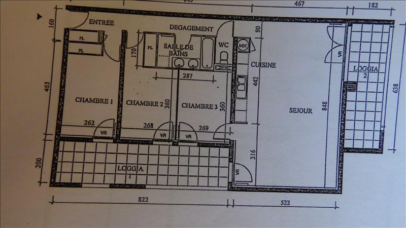 Vente appartement Monteux 232000€ - Photo 9