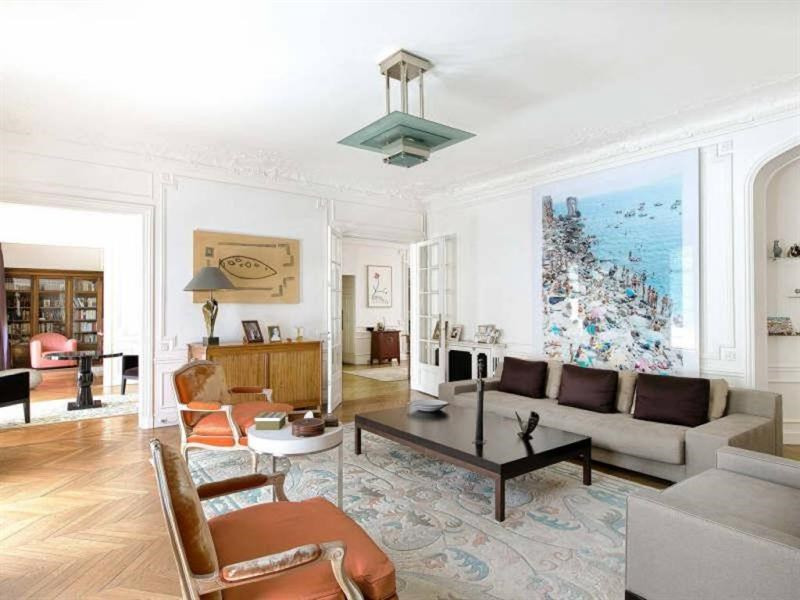 Revenda residencial de prestígio apartamento Paris 16ème 4400000€ - Fotografia 3
