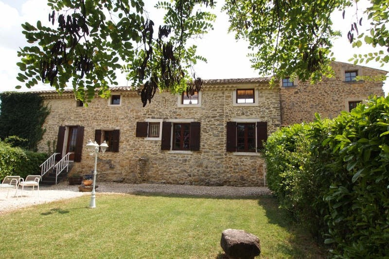 Vente de prestige maison / villa St paulet de caisson 598500€ - Photo 5