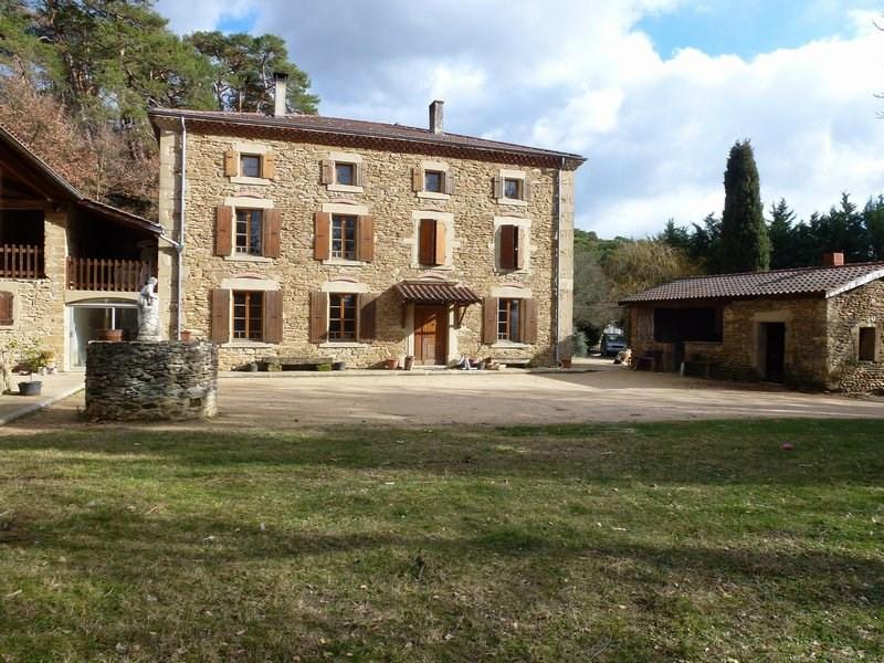 Vente maison / villa Chateauneuf de galaure 400000€ - Photo 2