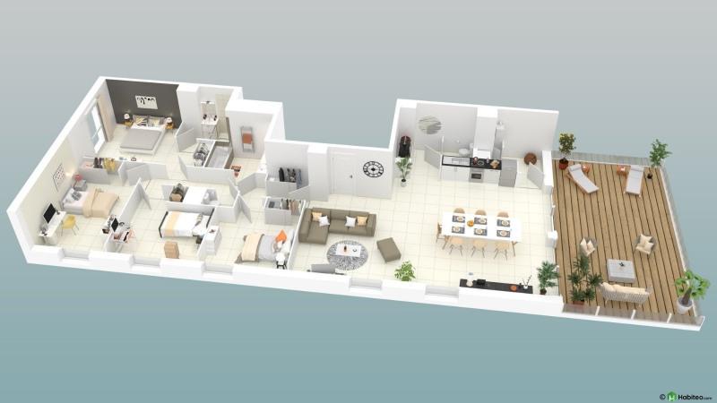 Vente appartement Toulouse 704000€ - Photo 3