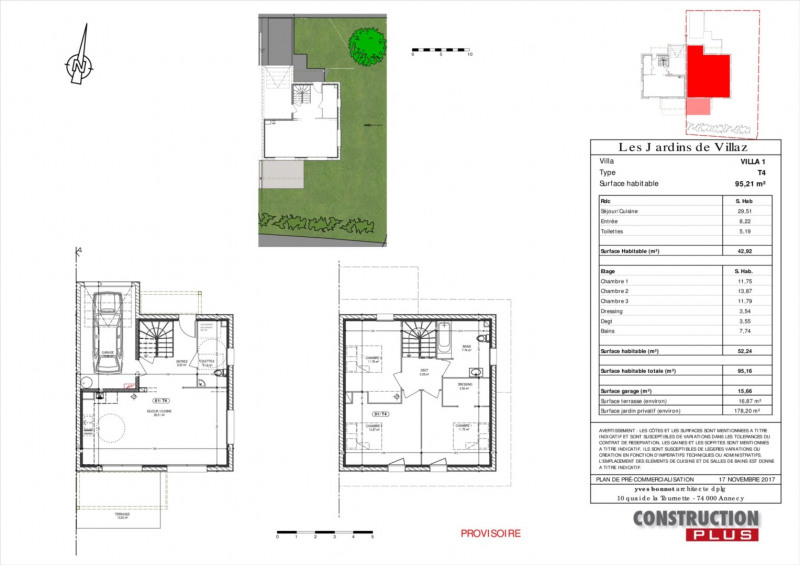 Vente maison / villa Villaz 385000€ - Photo 5