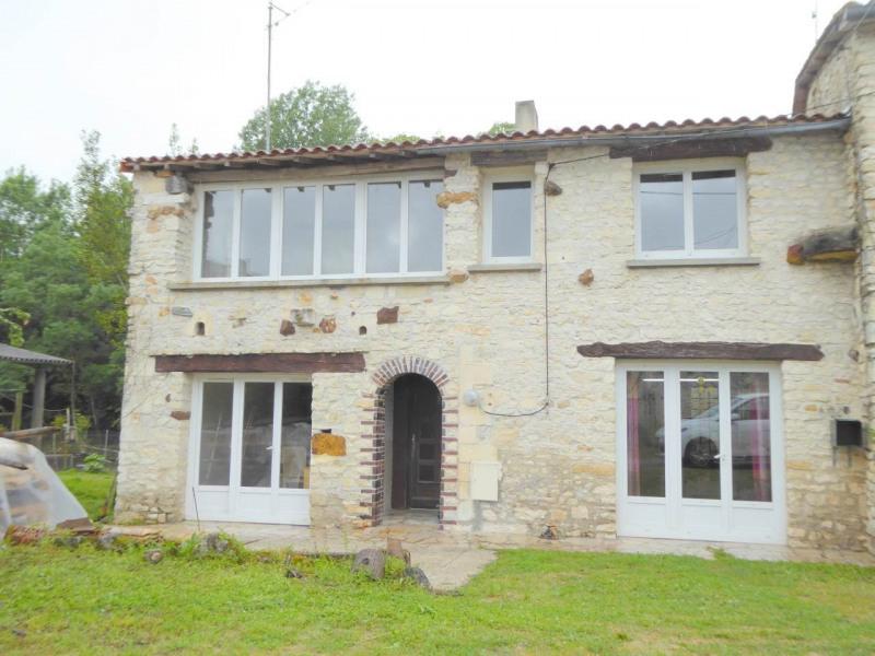 Vente maison / villa Gensac-la-pallue 75250€ - Photo 1