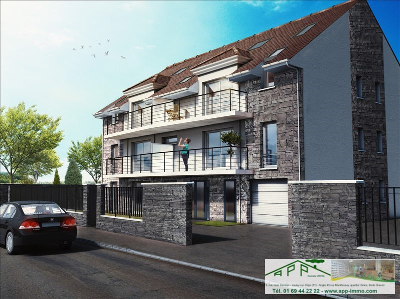 Sale apartment Draveil 163000€ - Picture 2