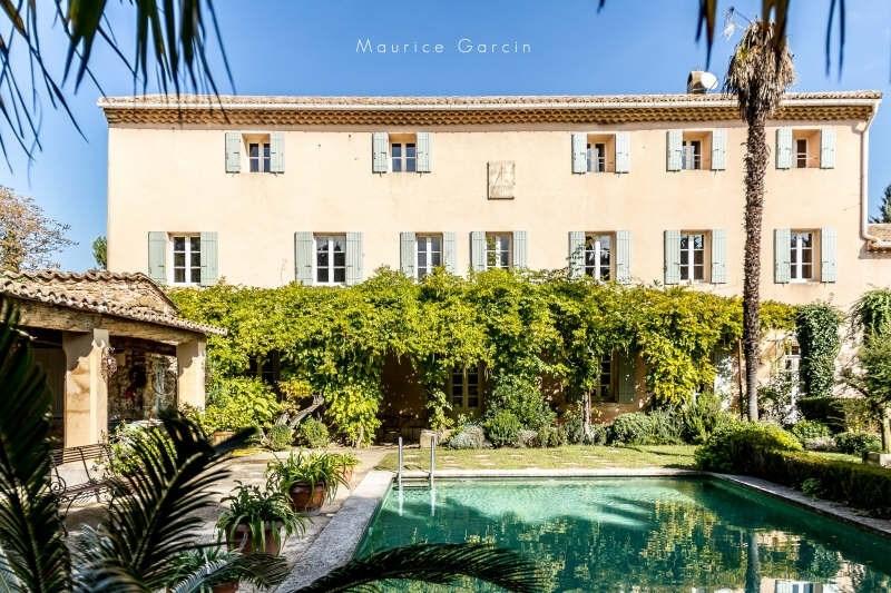 Vente de prestige maison / villa Carpentras 1570000€ - Photo 1