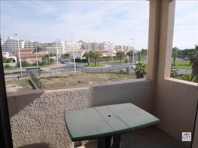 Locação apartamento Canet en roussillon 410€ CC - Fotografia 1