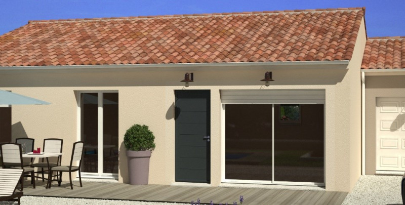 Maison  4 pièces + Terrain 680 m² Cherves-Richemont par MAISONS OPEN CHARENTES