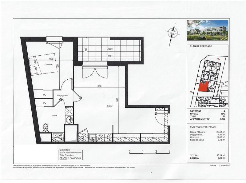 Vente appartement Beauzelle 190800€ - Photo 4