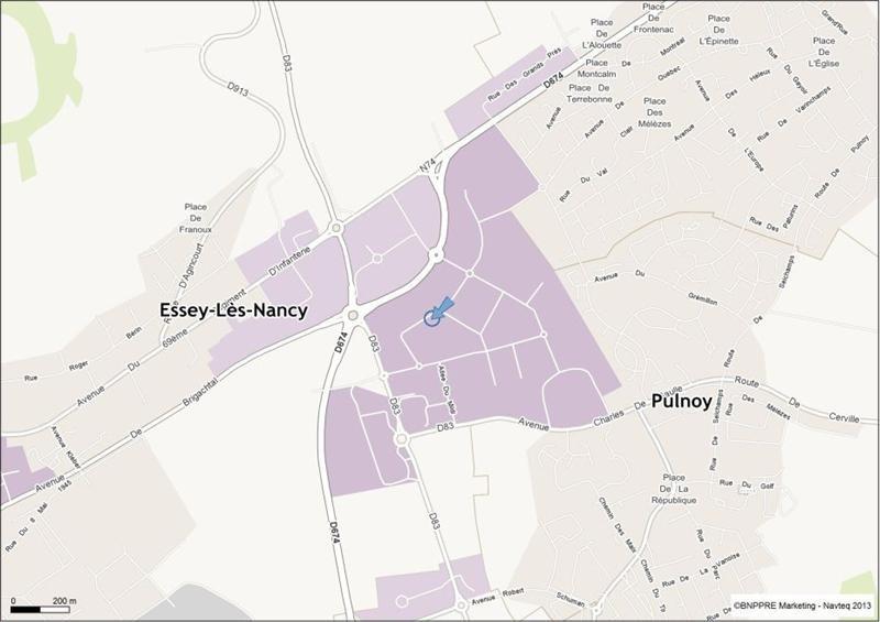 Location Local d'activités / Entrepôt Essey-lès-Nancy 0
