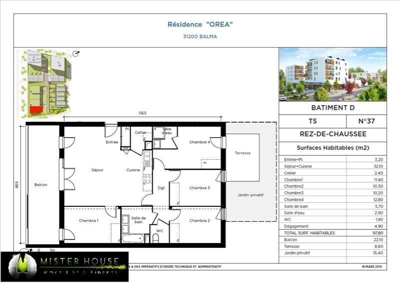 Verkoop nieuw  woningen op tekening Balma  - Foto 4