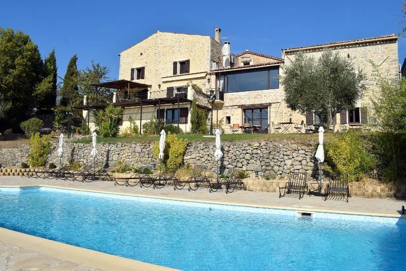 Revenda residencial de prestígio casa Fayence 1590000€ - Fotografia 1
