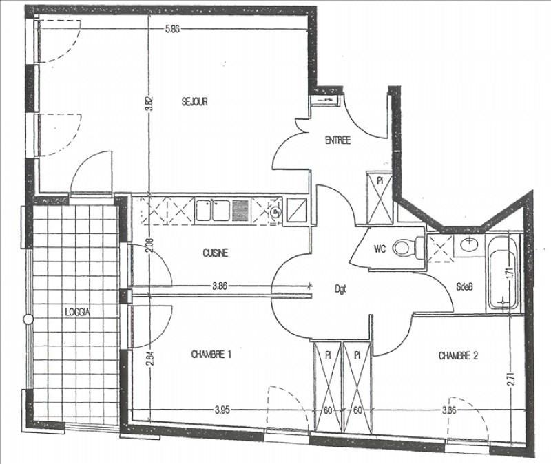 Sale apartment Montpellier 210000€ - Picture 7