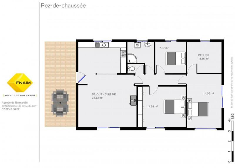 Vente maison / villa Montreuil-l'argille 133000€ - Photo 3