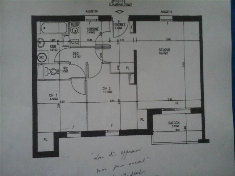 Vente de prestige appartement Touques 155000€ - Photo 2