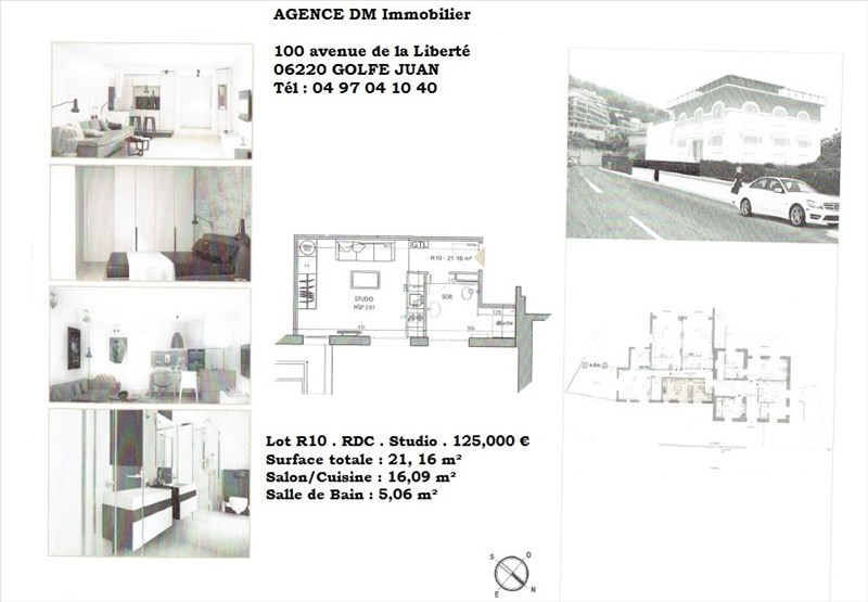 Sale apartment Nice 125000€ - Picture 1