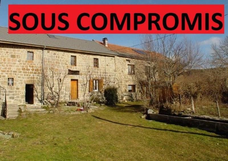 Sale house / villa St agreve 208000€ - Picture 1