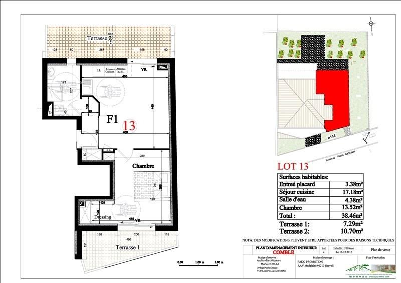 Produit d'investissement appartement Vigneux sur seine 142000€ - Photo 2
