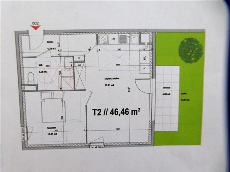 Vente appartement Luzinay 153000€ - Photo 3