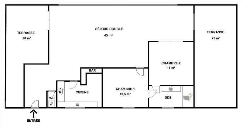 Sale apartment Courbevoie 615000€ - Picture 5