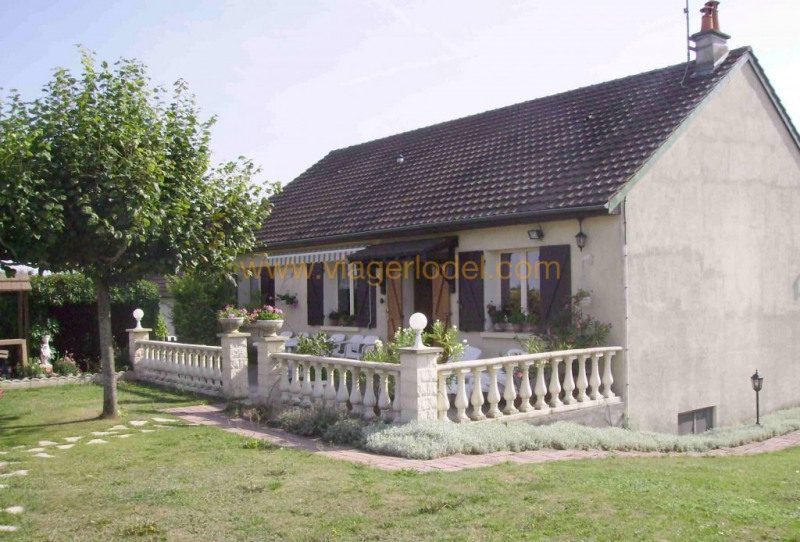 Vendita nell' vitalizio di vita casa Villegouin 45000€ - Fotografia 1