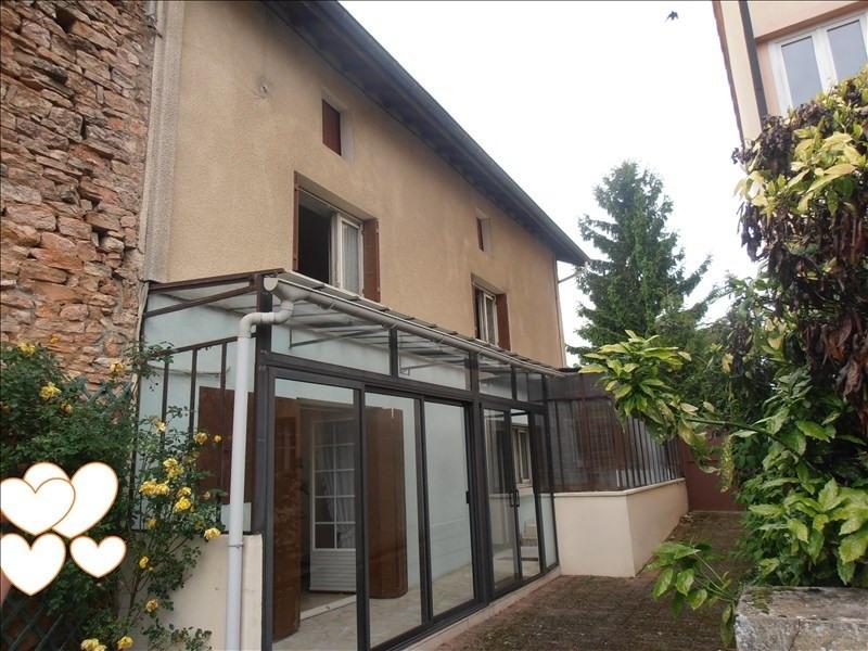 Vente maison / villa Tournus 116000€ - Photo 1