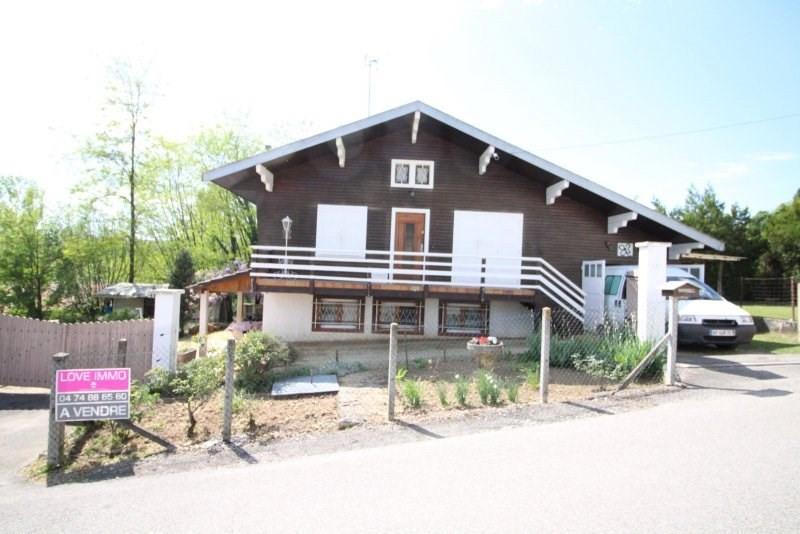 Vente maison / villa Morestel 180000€ - Photo 1