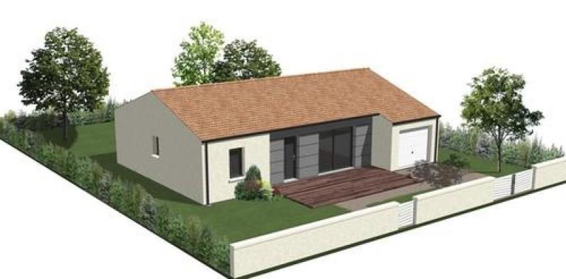 Maison  4 pièces + Terrain 497 m² Saint-Georges-de-Pointindoux par LOGIS DE VENDEE