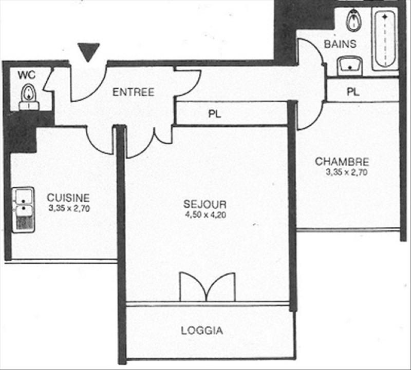 Sale apartment Les ulis 135000€ - Picture 9