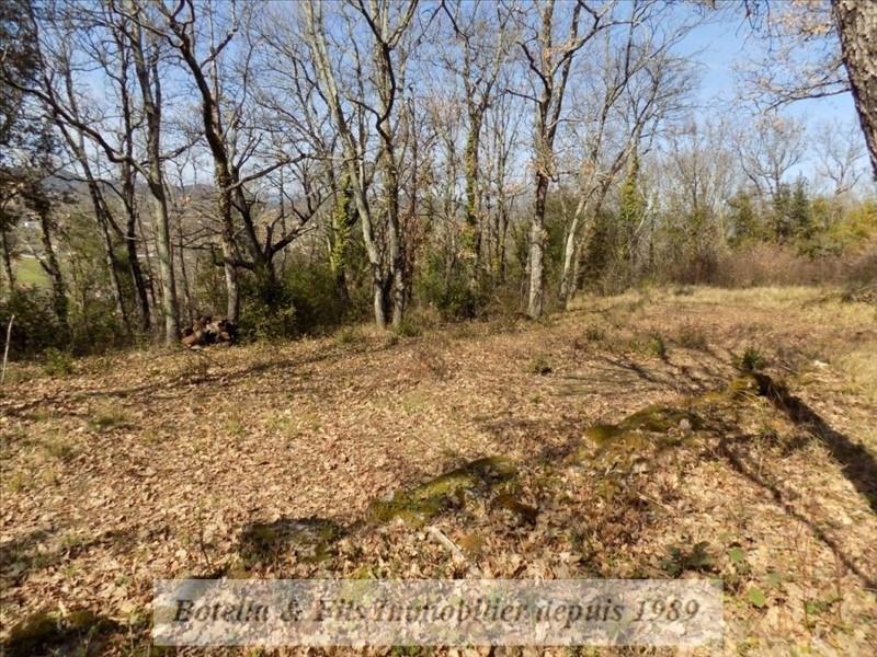 Verkoop  stukken grond Barjac 50000€ - Foto 4