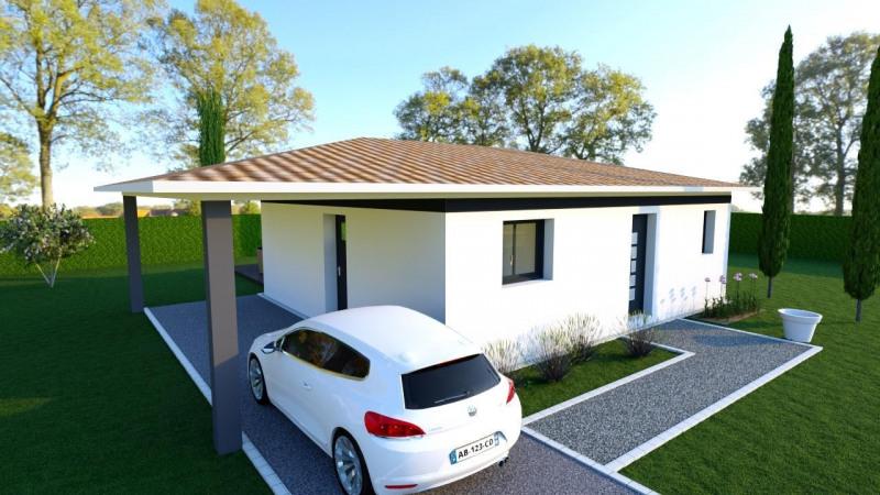 """Modèle de maison  """"Maison 2 pièces St. Loubès"""" à partir de 2 pièces Gironde par ALAIN PIERRE CONSTRUCTIONS"""