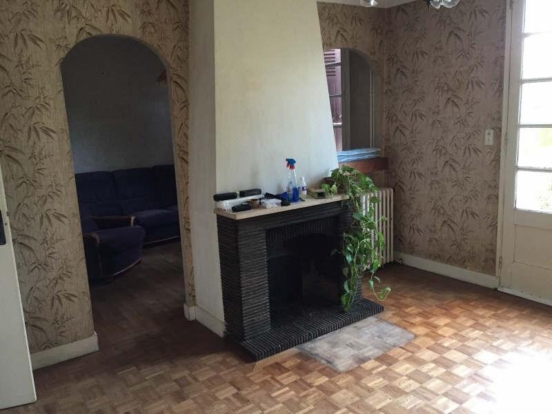 Vente maison / villa Roches premarie andille 149000€ -  4