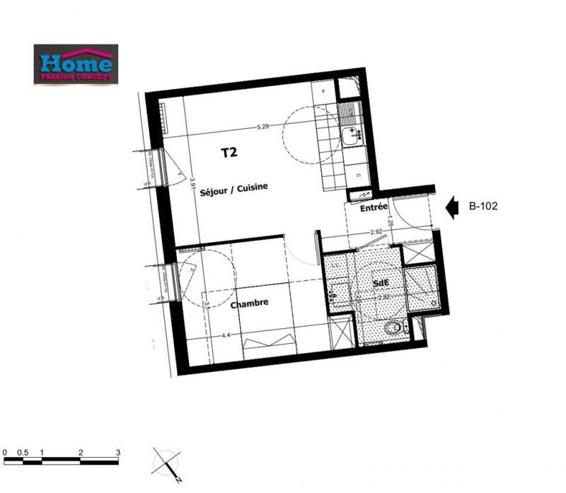 Sale apartment Rueil malmaison 299000€ - Picture 1