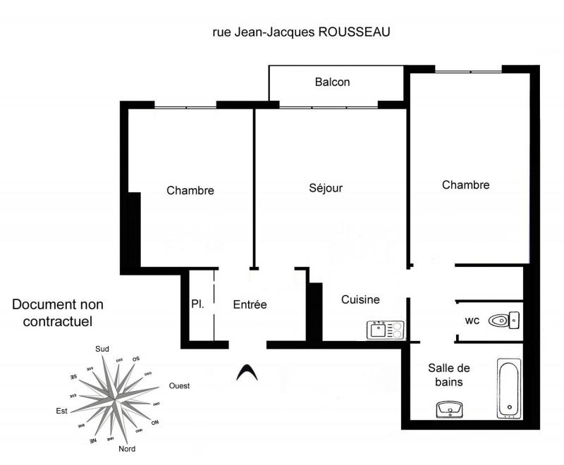 Location appartement Asnières-sur-seine 999€ CC - Photo 2