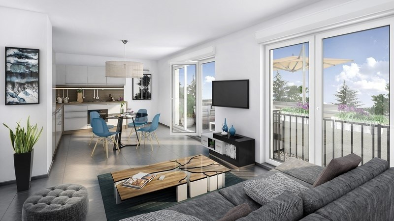 Vente appartement Pollionnay 266000€ - Photo 1