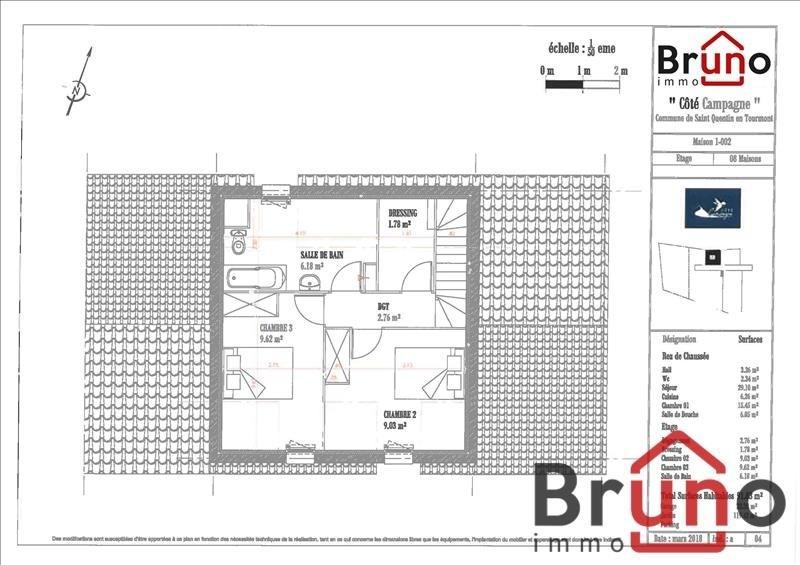 Verkoop  huis St quentin en tourmont 310000€ - Foto 4